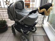 Kinderwagen der Marke Teutonia
