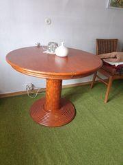 Säulentisch rund ausziehbar