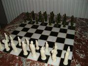 Schach Schachtisch Schachbrett Schachspiel Mamor
