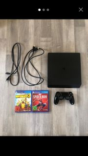 Ps4 1Tb 3Spiele 1Controller