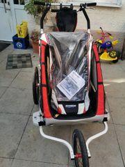 chariot Thule CX2 Fahrrad Anhänger