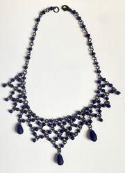 filigranes Collier ultramarinblau orientalisch 1001