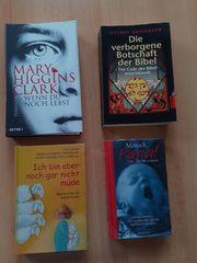 4 verschiedene Bücher