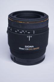 Sigma 50 mm 2 8