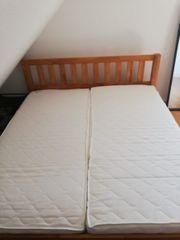 Massiv Holz Bett zu verkaufen