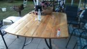 Gartentisch selbstgebaut stabil