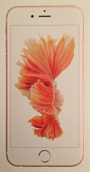 iPhone 6s 64GB Rosegold offen