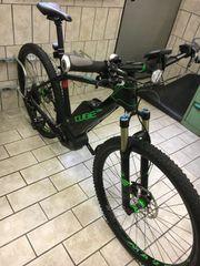 E-Bike MTB Carbon Herren Neuwertig