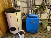 Buderus Gasheizung mit Warmwasserversorgung
