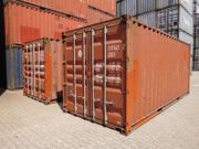 20ft Lagercontainer Seecontainer Schiffscontainer ex