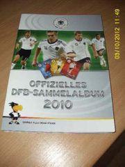 Sammeralbum DFB 2010 voll