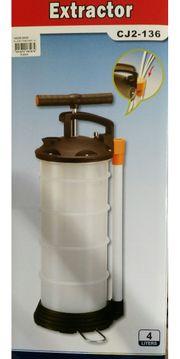 Öl wechsel Pumpe vakumm