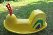 Schaukelschnecke Sitz-Karussell Hüpfball