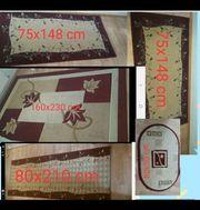 5 Teppichen