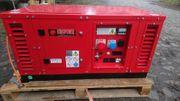 Europower Stromerzeuger 12kVA GAS