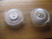Pressglas -Torten-Kuchenplatten