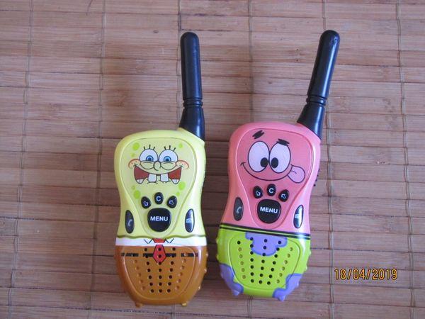 Walkie Talkie für Kinder SpongeBob