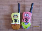 Walkie Talkie für Kinder SpongeBob