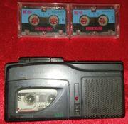 Intertronic MC 22V Microcassette Recorder