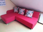 1 Schlafsofas in Rot