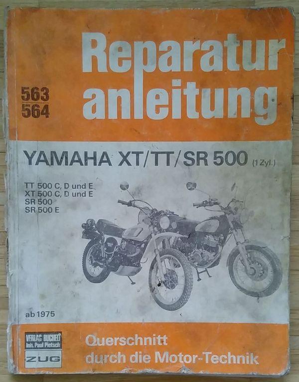 Buch Reparaturanleitung YAMAHA XT TT