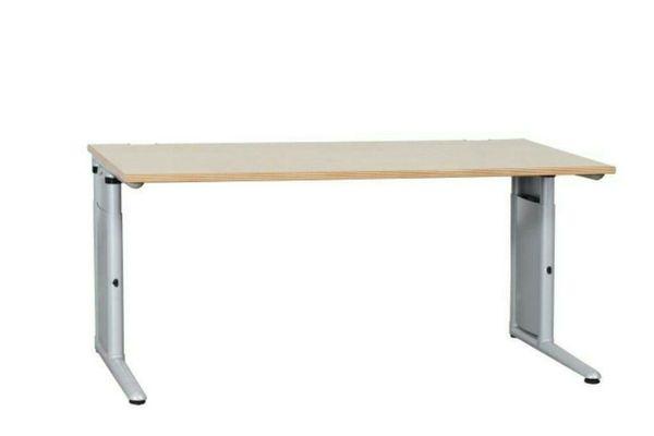 Schreibtisch Werndl Steelcase ahorn Bürotisch