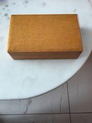 Holzschatulle 60 er Jahre 20