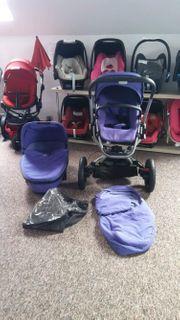 Quinny Buzz Xtra 2in1 violet