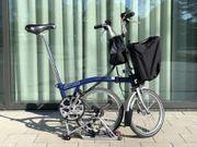 Brompton Klapprad Fahrrad Faltrad 6-Gang