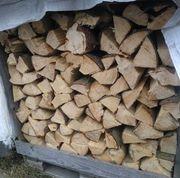 Kaminholz Brennholz Feuerholz Trocken Länge