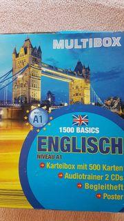 Englischtrainer Karteikarten Audio u Poster