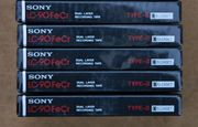 Sony LC-90 FeCr Elcaset Kassetten