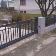 Metallzaun Zaun aus Polen Metalltreppen