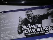 BO - 2 Tickets - Waldbühne Berlin -