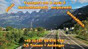 Transport Umzugsunternehmen Wuppertal UMTL deutschlandweit