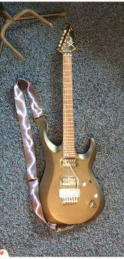 E-Gitarre Cort X Black Satin