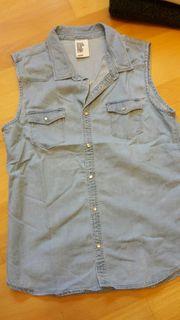 Jeansbluse H M Gr 164