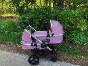 Icandy Peach 3 Zwillingskinderwagen in