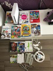 Nintendo Wii Zubehör 11Spiele