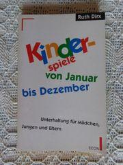 Vintage - Kinderspiele von Januar bis