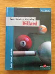 Billard Pool Snooker Karambol Regeln