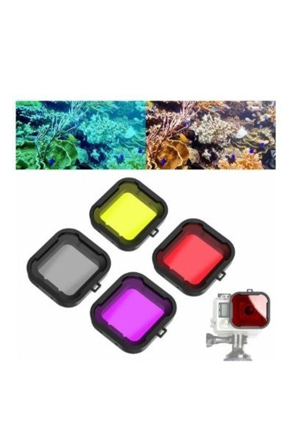 Farbfilter GoPro Actioncam Unterwasser Gehäuse