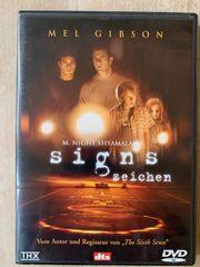 DVD Signs Zeichen Mel Gibson