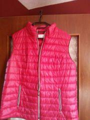 Schicke Weste in Pink Gr