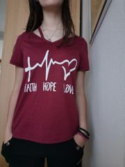 T-shirt Faith Hope Love 36