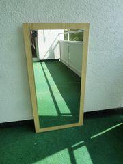 Spiegel auf Holz 90 x