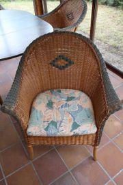 Rattan Stühle der Marke Grange