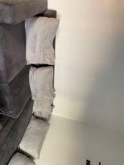 Couch grau nur bis zum