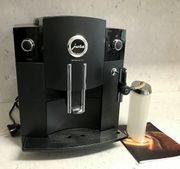 Jura Kaffeevollautomat C5 schwarz mit