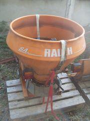 Anbaugeräte für Schmalspurtraktor